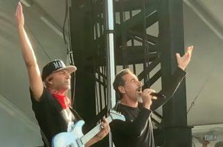 """Serj Tankian nousi Tom Morellon kanssa lavalle versioimaan Audioslaven kappaleen """"Like A Stone"""""""