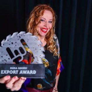 Anneke van Giersbergenille Buma ROCKS! Export -palkinto