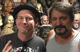 Slipknotin Corey Taylor työstää ensimmäistä omaa kauhuelokuvaansa alan legendan Tom Savinin kanssa