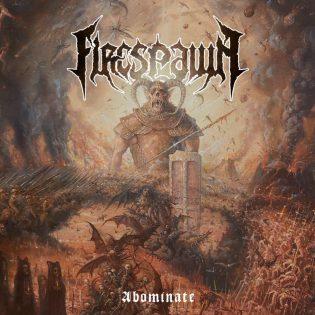 """Tukholmalainen death metalin superkokoonpano Firespawn ei odotuksista huolimatta tee vaikutusta kolmannella """"Abominate"""" -nimisellä levyllään"""