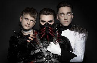 Islantilainen industrial-trio Hatari konsertoi Suomessa syksyllä