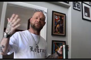 Five Finger Death Punchin Ivan Moody esittelee kotinsa tuoreella videolla