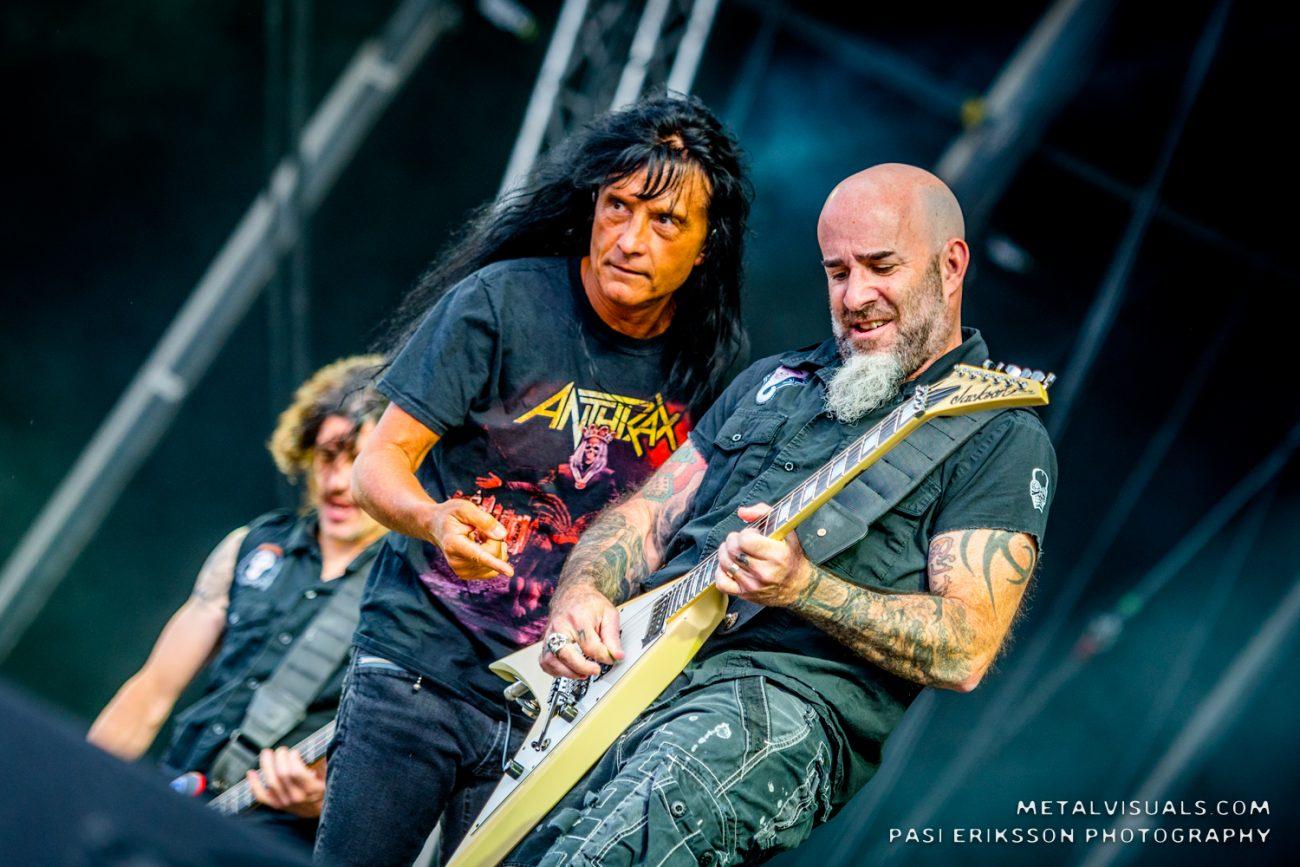 Anthrax muistelee Joey Belladonnan paluuta videosarjansa uudessa jaksossa