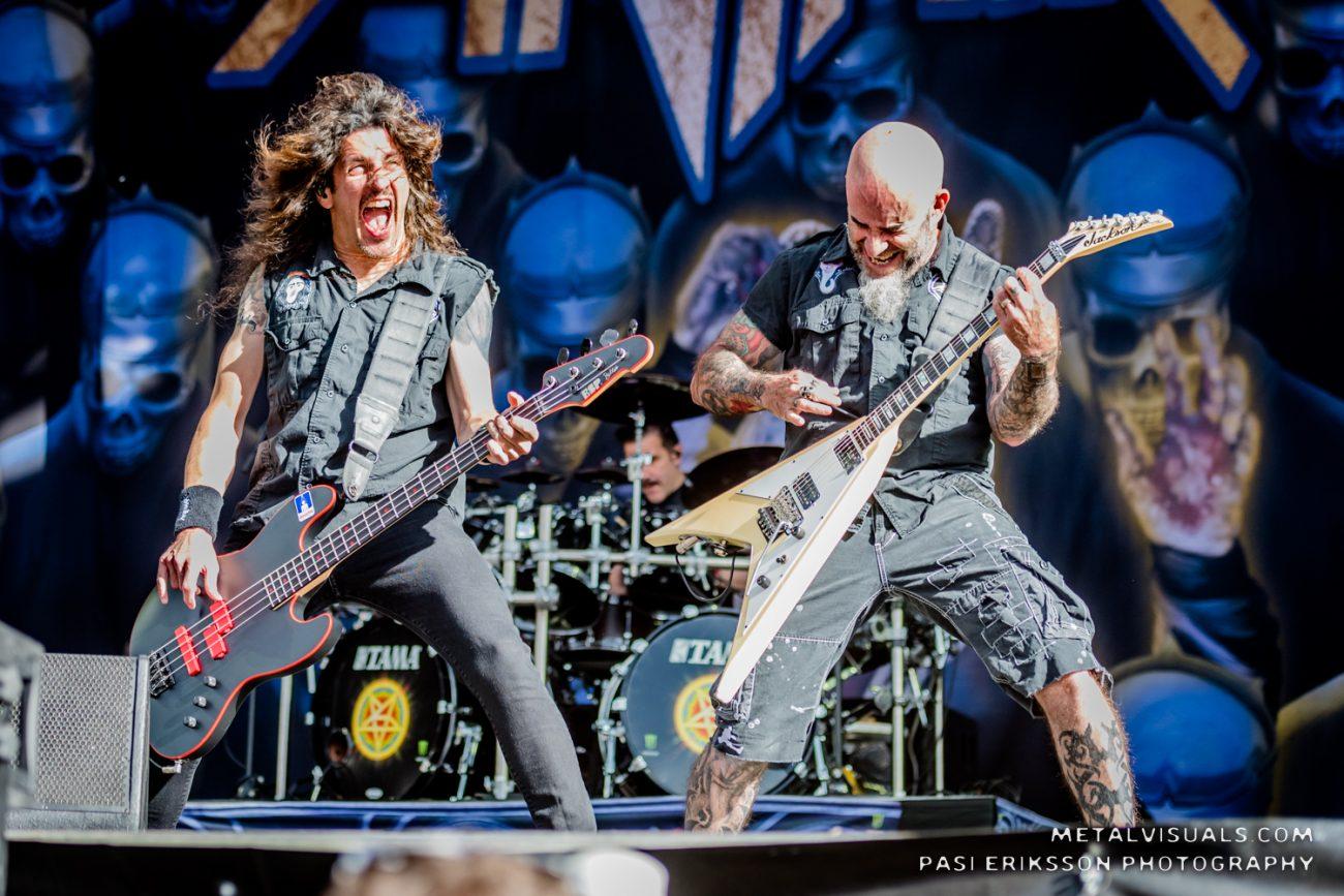 Anthrax valmistautuu nauhoittamaan uuden albumin vuonna 2021