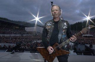Metallican keikka Trondheimista katsottavissa kokonaisuudessaan