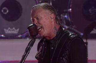 """Ensi viikolla Suomeen saapuvalta Metallicalta ammattilaisten kuvaama livevideo """"Sad But True"""" -kappaleesta Berliinin-keikalta"""