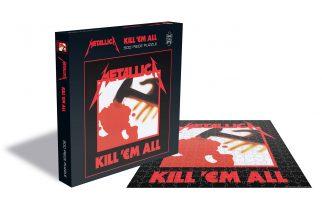 Palapelihetkiä syysiltoihin: Metallican neljän ensimmäisen albumin kansitaiteesta palapelit