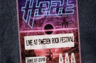 """H.E.A.T rokkaa kuin joukko Duracell-pupuja """"Live at Sweden Rock Festival"""" -livetallenteellaan"""