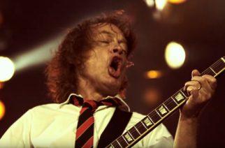 """Aikamatka 40 vuoden taakse: AC/DC julkaisi livevideon """"Whole Lotta Rosie"""" -kappaleen esityksestä Hollannista"""