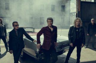 Bon Jovi debytoi livestriimin välityksellä uutta materiaaliaan