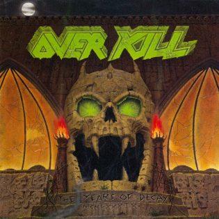 """""""Paha ei kuole koskaan"""" – Klassikkoarvostelussa 30 vuotta täyttävä Overkillin """"The Years Of Decay"""""""