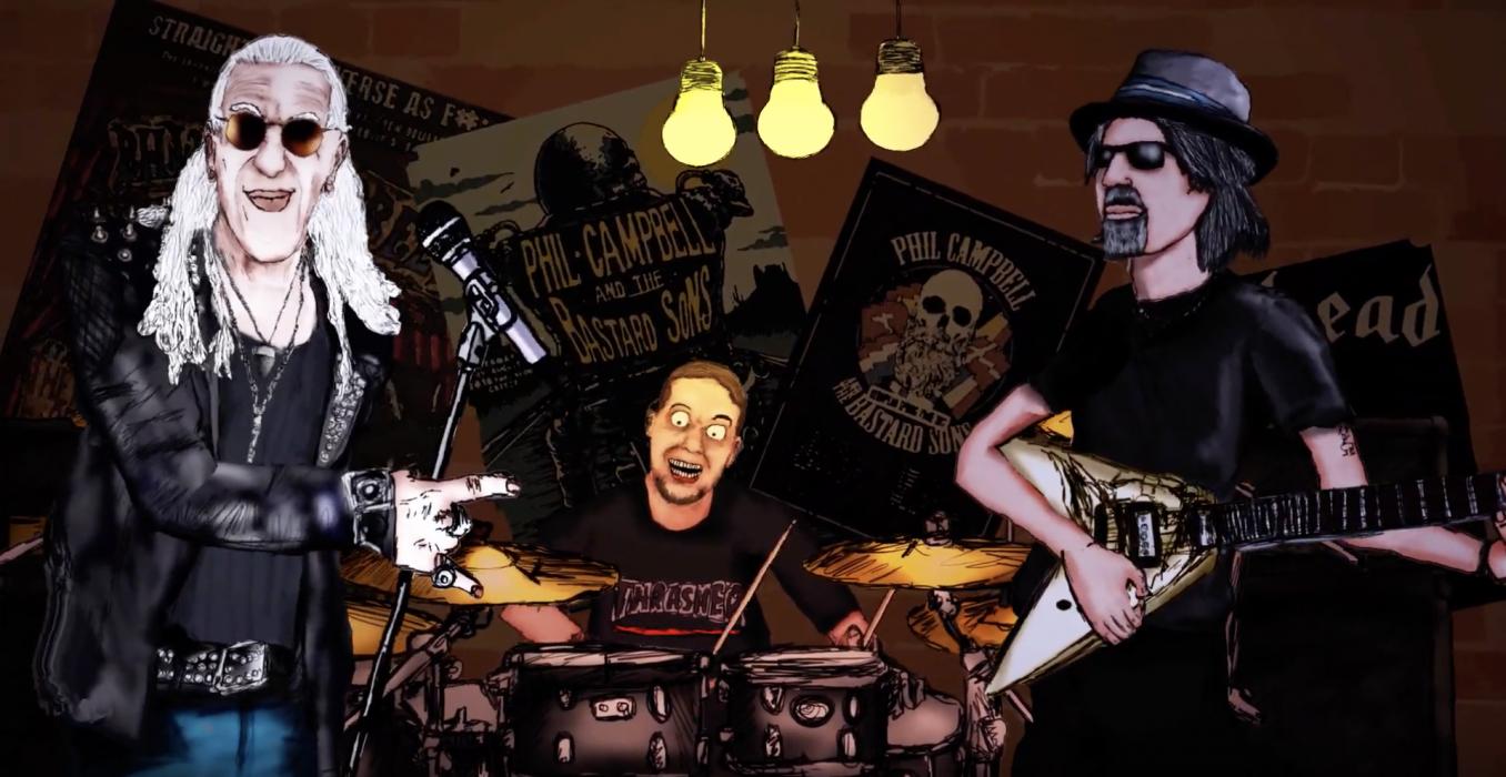 Motörhead-kitaristi Phil Campbellin sooloalbumilta ensimmäinen kappale kuunneltavissa