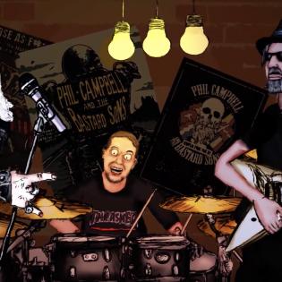 Motörhead-kitaristi Phil Campbell kertoo tulevan sooloalbuminsa synnystä – ajatus lähti jo 20 vuotta sitten