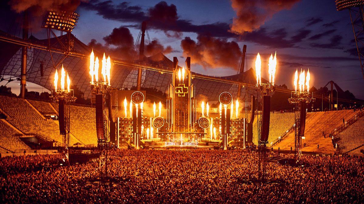 Rammsteinin livekeikka Moskovasta katsottavissa kokonaisuudessaan