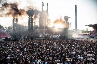 Rammstein toi kaikkien aikojen show'n Tampereelle
