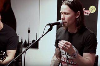 Alter Bridge esiintyi akustisesti saksalaisella Star FM -radiokanavalla: video esiintymisestä katsottavissa