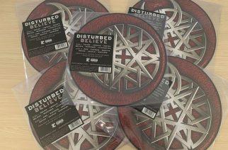 """Disturbedin klassikkoalbumi """"Believesta"""" julkaistaan kuvalevypainos syyskuun aikana"""