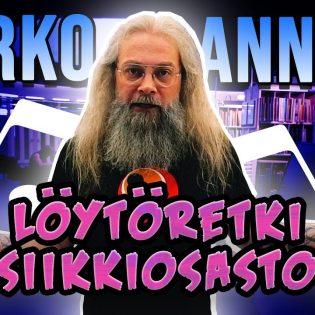 Mitä Marko Annalalle tarttuu mukaan kirjastosta? Katso Mokoma-keulakuvan kirjastotärpit tuoreelta videolta