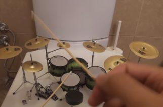 Tältä kuulostaa System Of A Downin ja Guns N' Rosesin musiikki miniatyyrirummuilla soitettuna – cover-videoita katsottavissa