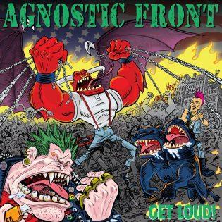 """""""Betonin makuista mätinkiä New York Cityn kaduilta"""" – Arviossa Agnostic Frontin """"Get Loud!"""""""