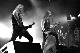 Melodisen death metalin juhlaa loppuunmyydyssä The Circuksessa: katso kuvat Insomniumin sekä Bloodred Hourglassin keikalta
