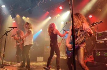 Temple Ballsin rock-energia vakuutti Lost In Music -tapahtumassa Tampereella 3.10.2019