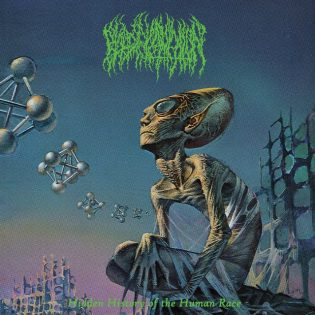 "Blood Incantationin ""Hidden History of the Human Race"" on death metal -mestariteos"