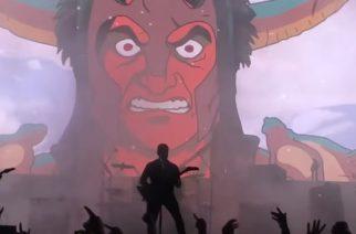 Animaatiosarja Metalocalypsesta tunnettu Dethklok esiintyi ensimmäistä kertaa viiteen vuoteen – videomateriaalia katsottavissa