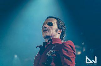 """Kaaoszine tapasi Ghostin Tobias Forgen Hartwall Arenalla: """"Haluan seuraavalle albumille suuria rockkappaleita"""""""