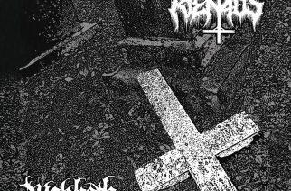 Ensimmäisen ja toisen aallon black metal -liitto – arviossa Rienaus / Wakboth -split