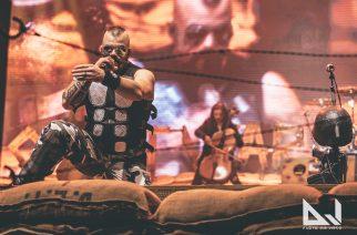 Sabaton muutti Hartwall Arenan sotatantereeksi: katso huikeat kuvat Sabatonin sekä Amaranthen ja Apocalyptican show'sta