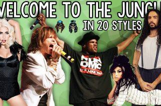 """Tältä kuulostaa Guns N' Rosesin """"Welcome To The Jungle"""" Peripheryn, Rammsteinin ja Kornin tyylillä"""