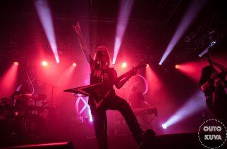 Viikatteen viuhuntaa keskiviikkona Tampereella – Kuvakoosteessa Children Of Bodom, Bloodred Hourglas ja Brymir