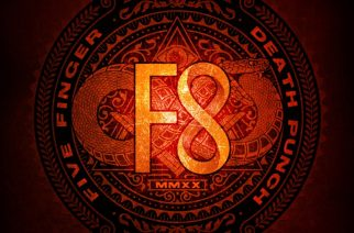 """Uusi alku, uusi järjestys, uusi levy-yhtiö ja uusi rumpali – Arviossa Five Finger Death Punchin """"F8"""""""