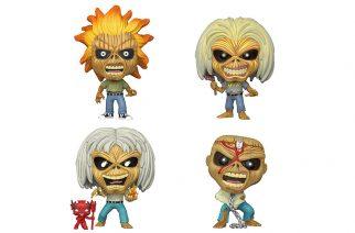 Iron Maidenin Eddie-maskotista tulossa joukko Funko! Pop -figuureita
