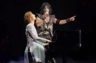 X Japanin Yoshiki nousi lavalle Kissin kanssa esittämään kaksi kappaletta Japanissa: video keikalta katsottavissa