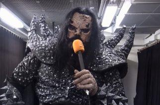 """KaaosTV tapasi Mr. Lordin Helsingin jäähallissa: """"Musiikin nauhoittamisesta on tullut samaa kuin työskentelisit tehtaassa linjastossa"""""""