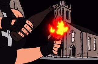 """Behemothin nokkamies polttelee kirkkoja Me And That Man -projektinsa tuoreella joulusinglellään: katso animoitu video """"Burning Churches"""" -kappaleesta"""