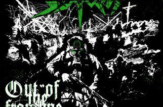 """Raskas sotakone liikkuu pistäen kaiken matalaksi – arviossa saksalaisen thrash-veteraanin Sodomin ep """"Out of the Frontline Trench"""""""