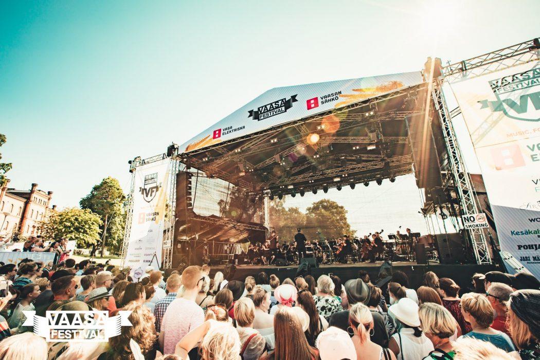 Vaasa Festivalin ohjelmisto täydentyy 16 uudella artistikiinnityksellä: festivaalin aikataulut julki