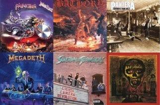 Thrash metalin ja heavy metalin kulta-aikaa: katso, mitkä klassikkoalbumit täyttävät tänä vuonna 30 vuotta