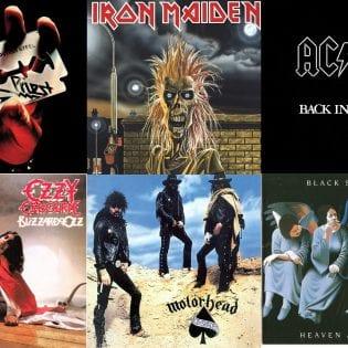 AC/DC:ta, Black Sabbathia, Iron Maidenia: katso, mitkä albumit täyttävät 40 vuotta tänä vuonna