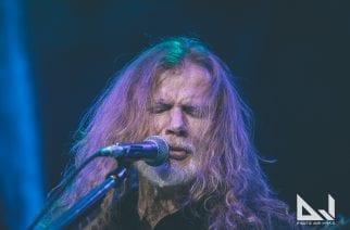 Megadethin Dave Mustaine teki odotetun paluun keikkalavoille loppuunmyydyssä Hartwall Areenassa: katso videoita yhtyeen keikalta