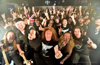 Englantilaisen heavy metal -veteraani Saxonin perustajajäsenet Graham Oliver ja Steve Dawson Oliver/Dawson Saxon -yhtyeensä kanssa Suomeen helmikuussa