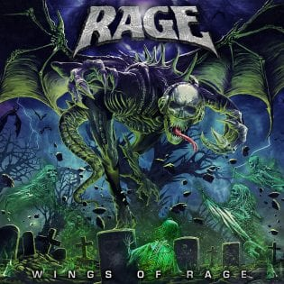 """Peavyn johtaman trio ei osoita hyytymisen merkkejä – arviossa Ragen pitkäsoitto """"Wings of Rage"""""""