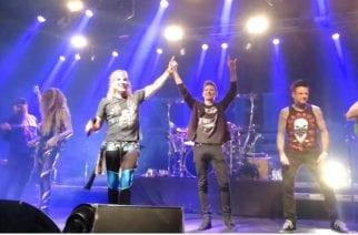 Five Finger Death Punchin jäsenet nousivat lavalle Steel Pantherin kanssa coveroimaan Van Halenia The Circuksessa: katso video keikalta