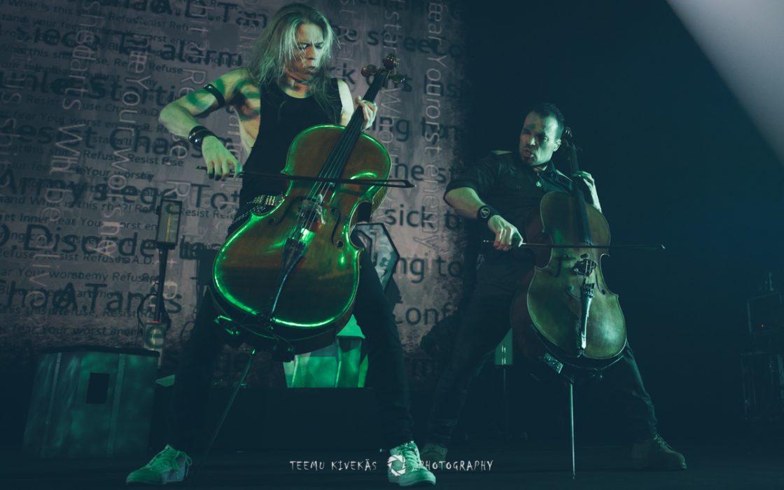 """Apocalyptican """"Ashes Of The Modern World"""" -esitys Tuska Utopiasta katsottavissa"""