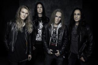 Bodom After Midnight 2020. From left: Mitja Toivonen (bass), Waltteri Väyrynen (drums), Alexi Laiho ( guitar and vocals), Daniel Freyberg (guitar).