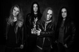 Bodom After Midnight 2020. From left: Mitja Toivonen (bass), Waltteri Väyrynen (drums), Alexi Laiho (guitar and vocals), Daniel Freyberg (guitar).