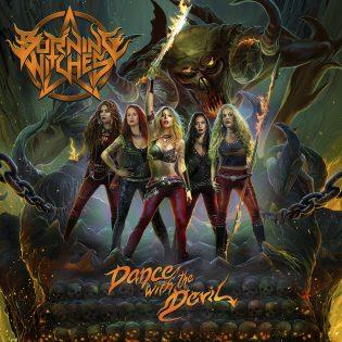 """Yksi tämän vuoden väkevimmistä heavy metal -julkaisuista: arviossa Burning Witchesin kolmas albumi """"Dance with the Devil"""""""